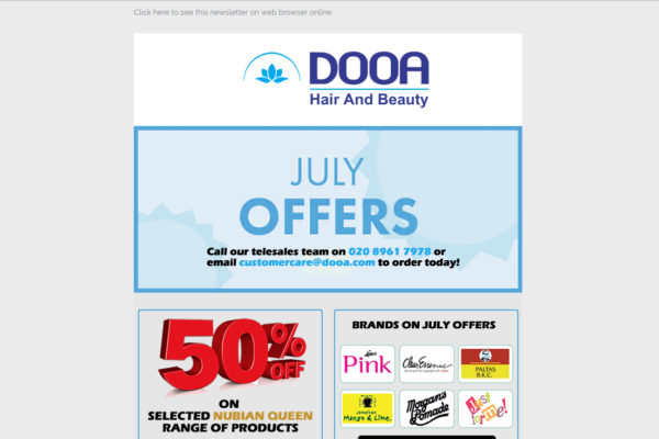 June 2019 special offers newsletter