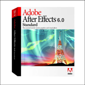 Adobe After Effects 6.0 Full Version For PC - Image & Video Editing Software CD With Key
