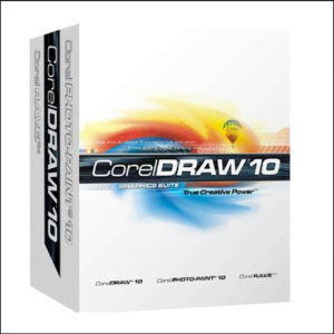 CorelDraw 10 Full version Software CD With Key (S/N)
