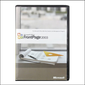 Microsoft Office Frontpage 2003 Web Design Software With Key (S/N)